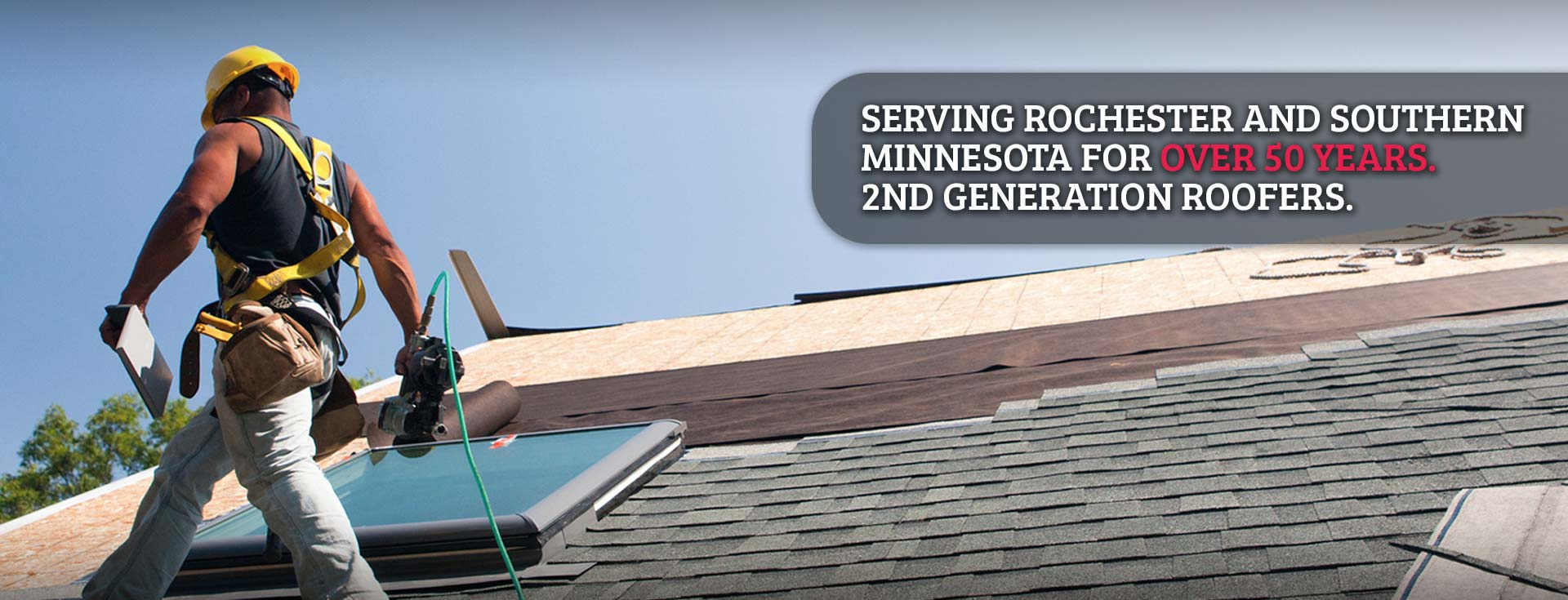 Roofing in Rochster Minnesota